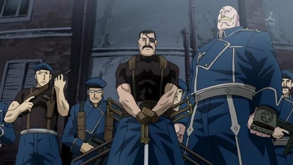 Tags: Anime, Fullmetal Alchemist Brotherhood, Fullmetal Alchemist, King Bradley, Screenshot, Wallpaper