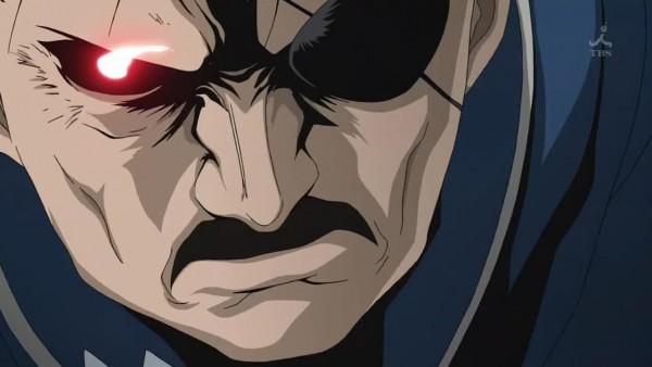 Tags: Anime, Fullmetal Alchemist, Fullmetal Alchemist Brotherhood, King Bradley, Wrath (FMA), Screenshot, Homunculi