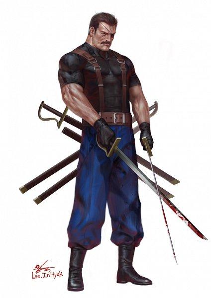 Tags: Anime, Inhyuk Lee, Fullmetal Alchemist, King Bradley, Fanart, ArtStation