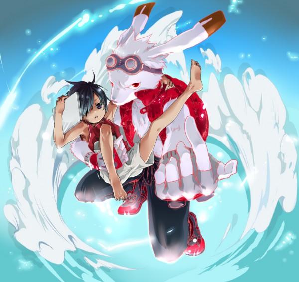 Tags: Anime, Nakagawa Waka, Summer Wars, King Kazma, Ikezawa Kazuma, Fanart, Pixiv