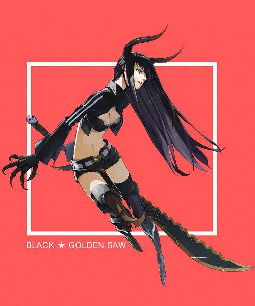 King Saw - Black★Rock Shooter