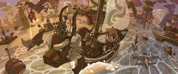 King of Red Lions - Zelda no Densetsu: Kaze no Takuto