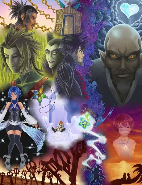 Tags: Anime, Quincy-of-the-mist, Sleeping Beauty (Disney), Kingdom Hearts, Kingdom Hearts: Birth by Sleep, Mickey Mouse, Master Xehanort, Aqua (Kingdom Hearts), Kairi (Kingdom Hearts), Vanitas, Riku (Kingdom Hearts), Ventus, Sora (Kingdom Hearts)