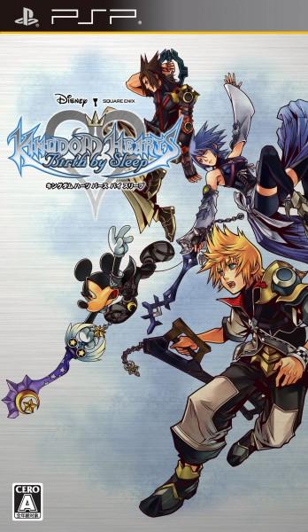 Tags: Anime, Nomura Tetsuya, SQUARE ENIX, Kingdom Hearts, Kingdom Hearts: Birth by Sleep, Aqua (Kingdom Hearts), Ventus, Terra, Mickey Mouse, Keyblade, Disney, Game Cover