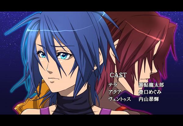 Tags: Anime, Kingdom Hearts: Birth by Sleep, Aqua (Kingdom Hearts), Terra