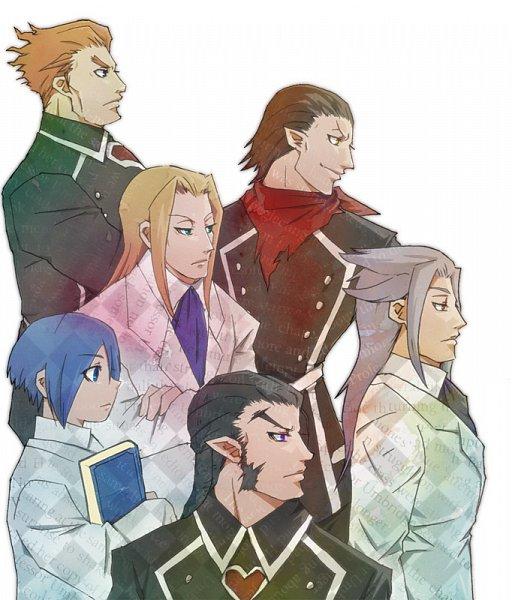 Tags: Anime, Pixiv Id 454310, Kingdom Hearts II, Kingdom Hearts: Birth by Sleep, Kingdom Hearts, Dilan, Ienzo, Xehanort, Even, Lexaeus, Aeleus, Xigbar, Organization XIII