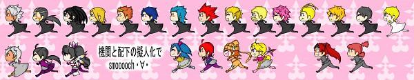 Tags: Anime, Pixiv Id 143693, KONAMI, Beatmania IIDX, Kingdom Hearts II, Kingdom Hearts, Kingdom Hearts 358/2 Days, Fate/stay night, Naminé, Vexen, Xion, Axel (Kingdom Hearts), Berserker (Fate/stay night)