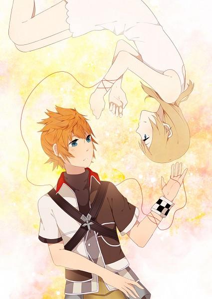 Tags: Anime, Karudoll, Kingdom Hearts II, Kingdom Hearts, Kingdom Hearts: Birth by Sleep, Naminé, Ventus, Mobile Wallpaper, Fanart