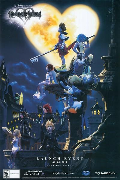 Tags: Anime, Disney, Kingdom Hearts, Kingdom Hearts 358/2 Days, Axel (Kingdom Hearts), Kairi (Kingdom Hearts), Roxas, Riku (Kingdom Hearts), Naminé, Xion, Goofy, Sora (Kingdom Hearts), Donald Duck