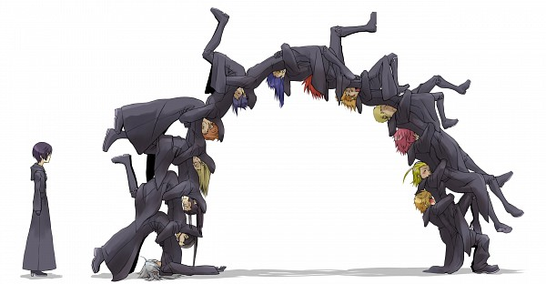Tags: Anime, Vanitassora, Kingdom Hearts, Kingdom Hearts II, Kingdom Hearts 358/2 Days, Roxas, Lexaeus, Xion, Marluxia, Vexen, Axel (Kingdom Hearts), Larxene, Xaldin