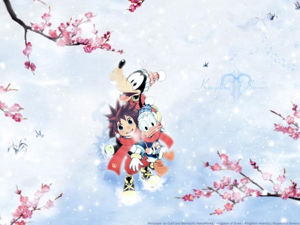 Tags: Anime, Kingdom Hearts, Goofy, Donald Duck, Sora (Kingdom Hearts), Disney