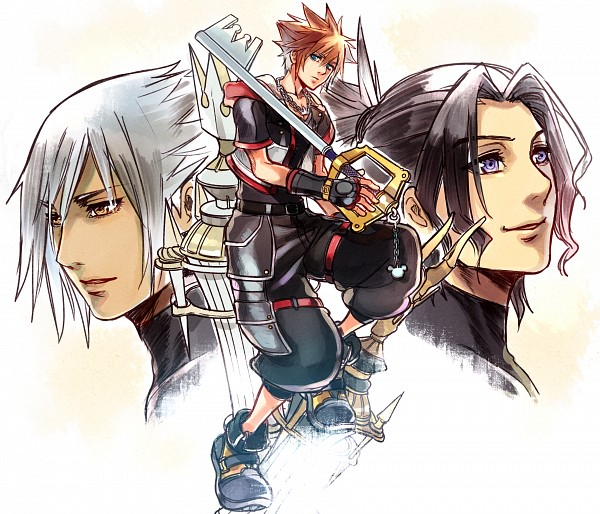 Tags: Anime, Rosel D, Kingdom Hearts III, Kingdom Hearts: Birth by Sleep, Kingdom Hearts, Master Xehanort, Sora (Kingdom Hearts), Xehanort, Master Eraqus, Chess, Keyblade, Fanart From DeviantART, deviantART