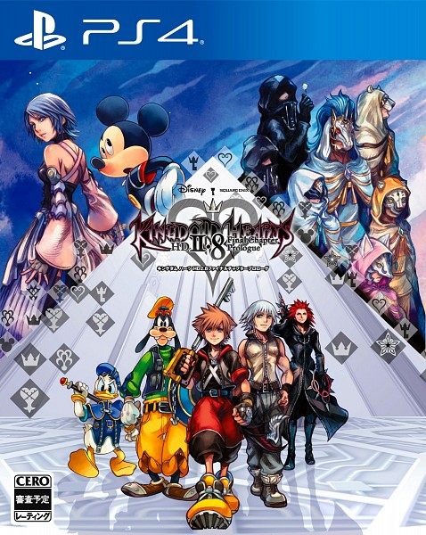 Tags: Anime, Nomura Tetsuya, SQUARE ENIX, Kingdom Hearts χ, Kingdom Hearts, Donald Duck, Invi, Riku (Kingdom Hearts), Gula (Kingdom Hearts), Sora (Kingdom Hearts), Luxu, Mickey Mouse, Aced