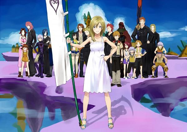 Tags: Anime, Summer Wars, Final Fantasy Fables: Chocobo's Dungeon, Final Fantasy X, Final Fantasy VIII, Final Fantasy VII, Kingdom Hearts II, Kingdom Hearts 358/2 Days, Kingdom Hearts, Kairi (Kingdom Hearts), Squall Leonhart, Marluxia, Riku (Kingdom Hearts)