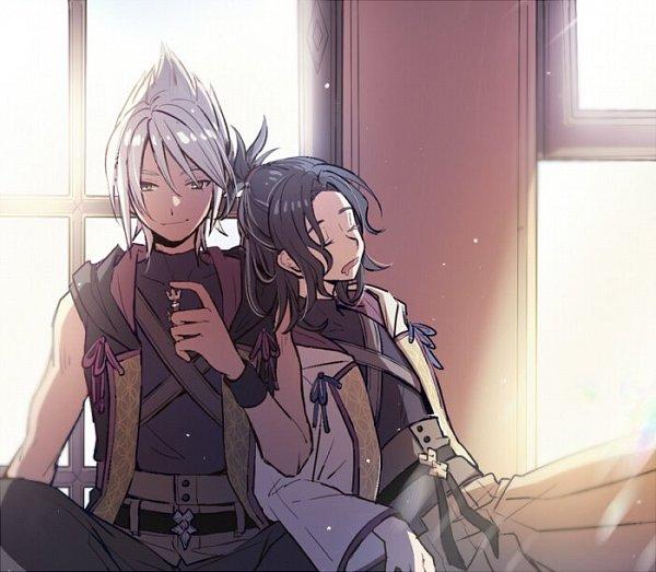 Tags: Anime, CHI-11, Kingdom Hearts III, Kingdom Hearts, Master Eraqus, Master Xehanort, Twitter