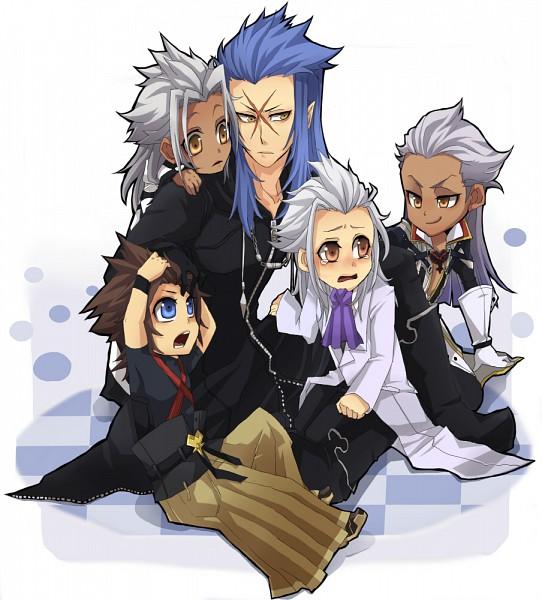 Tags: Anime, Kiragera, Kingdom Hearts, Kingdom Hearts: Birth by Sleep, Xemnas, Ansem Seeker Of Darkness, Saïx, Terra-Xehanort, Terra, Xehanort, Organization XIII