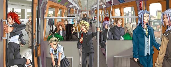 Tags: Anime, Drowdragon, SQUARE ENIX, Final Fantasy VII, Final Fantasy Fables: Chocobo's Dungeon, Final Fantasy VIII, Kingdom Hearts II, Kingdom Hearts, Demyx, Cloud Strife, Saïx, Lexaeus, Riku (Kingdom Hearts)
