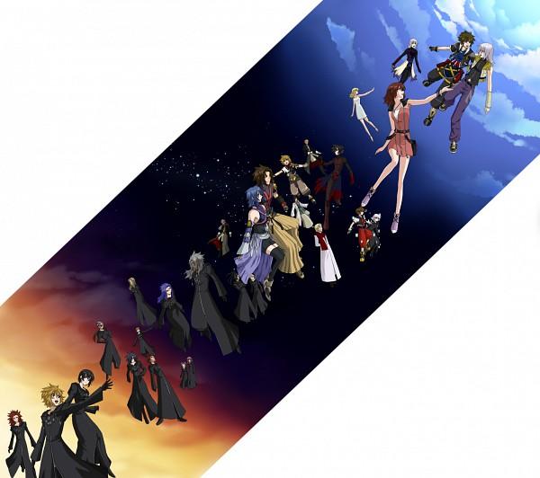 Tags: Anime, SQUARE ENIX, Mobile Suit Gundam SEED Destiny, Kingdom Hearts 358/2 Days, Kingdom Hearts: Birth by Sleep, Kingdom Hearts II, Kingdom Hearts, Xion, Riku (Kingdom Hearts), Saïx, Zexion, Xehanort, Lexaeus