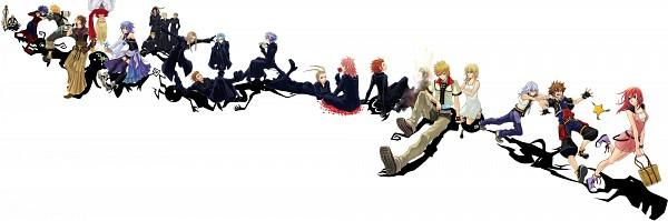 Tags: Anime, Shiki (0.FACTER), Kingdom Hearts 358/2 Days, Kingdom Hearts: Birth by Sleep, Kingdom Hearts, Kingdom Hearts II, Kingdom Hearts: Chain of Memories, Kairi (Kingdom Hearts), Saïx, Xemnas, Ansem the Wise, Lexaeus, Terra
