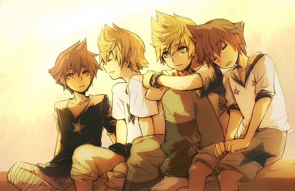 Tags: Anime, Illbewaiting, Kingdom Hearts, Kingdom Hearts II, Kingdom Hearts: Birth by Sleep, Kingdom Hearts 358/2 Days, Sora (Kingdom Hearts), Vanitas, Ventus, Roxas, deviantART, Fanart, Organization XIII