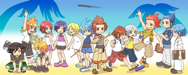 Tags: Anime, Vanitassora, Kingdom Hearts 358/2 Days, Kingdom Hearts, Kingdom Hearts: Birth by Sleep, Kingdom Hearts II, Riku (Kingdom Hearts), Isa, Ventus, Sora (Kingdom Hearts), Lea, Roxas, Terra