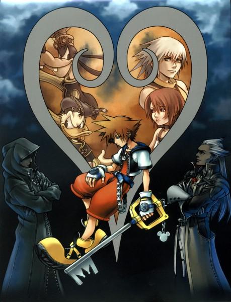 Tags: Anime, Nomura Tetsuya, SQUARE ENIX, Kingdom Hearts II, Kingdom Hearts, Goofy, Donald Duck, Kairi (Kingdom Hearts), Ansem the Wise, Xehanort, Riku (Kingdom Hearts), Sora (Kingdom Hearts), Keyblade