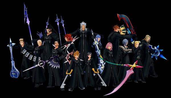 Tags: Anime, Kingdom Hearts 358/2 Days, Kingdom Hearts, Kingdom Hearts II, Zexion, Demyx, Saïx, Xemnas, Roxas, Lexaeus, Marluxia, Vexen, Axel (Kingdom Hearts)