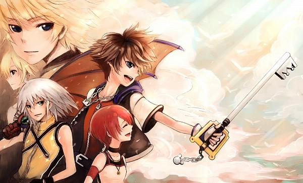 Tags: Anime, Littledog (Artist), Kingdom Hearts, Kingdom Hearts 358/2 Days, Kingdom Hearts II, Naminé, Kairi (Kingdom Hearts), Riku (Kingdom Hearts), Sora (Kingdom Hearts), Roxas, Keyblade, Organization XIII