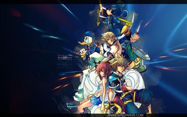 Tags: Anime, SQUARE ENIX, Kingdom Hearts 358/2 Days, Kingdom Hearts II, Kingdom Hearts, Donald Duck, Kairi (Kingdom Hearts), Roxas, Sora (Kingdom Hearts), Mickey Mouse, Goofy, Keyblade, Disney