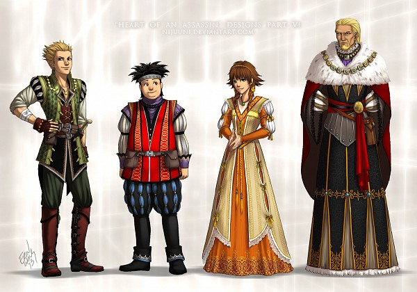 Tags: Anime, Nijuuni, SQUARE ENIX, Kingdom Hearts II, Kingdom Hearts, Olette, Pence, Ansem the Wise, Hayner, Assassin, Assassin's Creed (Parody), Assassin's Creed (Cosplay), Disney