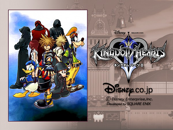 Tags: Anime, Nomura Tetsuya, Kingdom Hearts, Kingdom Hearts II, Kingdom Hearts 358/2 Days, Donald Duck, Ansem the Wise, Kairi (Kingdom Hearts), Roxas, Sora (Kingdom Hearts), Mickey Mouse, Goofy, Ansem Seeker Of Darkness