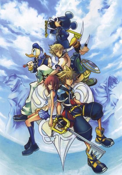 Tags: Anime, Nomura Tetsuya, SQUARE ENIX, Kingdom Hearts, Kingdom Hearts 358/2 Days, Kingdom Hearts II, Ansem the Wise, Donald Duck, Kairi (Kingdom Hearts), Roxas, Sora (Kingdom Hearts), Mickey Mouse, Goofy