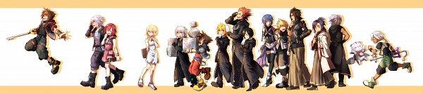 Tags: Anime, Pixiv Id 2153325, Kingdom Hearts III, Kingdom Hearts: Birth by Sleep, Kingdom Hearts II, Kingdom Hearts, Kingdom Hearts 358/2 Days, Axel (Kingdom Hearts), Master Eraqus, Riku (Kingdom Hearts), Master Xehanort, Sora (Kingdom Hearts), Aqua (Kingdom Hearts)
