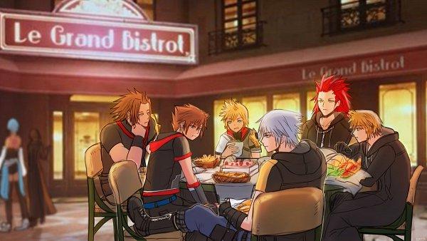 Tags: Anime, Pun-riii, Kingdom Hearts III, Kingdom Hearts, Lea, Axel (Kingdom Hearts), Xion, Roxas, Ventus, Riku (Kingdom Hearts), Terra, Sora (Kingdom Hearts), Aqua (Kingdom Hearts)