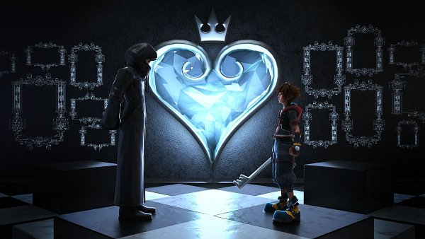 Tags: Anime, Georgepg, Kingdom Hearts III, Kingdom Hearts, Sora (Kingdom Hearts), Master Of Masters, Keyblade, Wallpaper, 3D