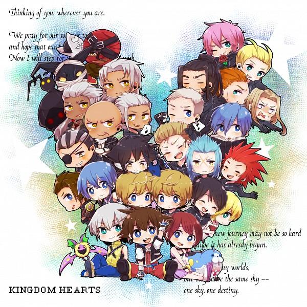 Tags: Anime, Pixiv Id 8287015, SQUARE ENIX, Kingdom Hearts, Kingdom Hearts II, Kingdom Hearts 358/2 Days, Kingdom Hearts: Birth by Sleep, Roxas, Vexen, Aqua (Kingdom Hearts), Ansem Seeker Of Darkness, Axel (Kingdom Hearts), Larxene