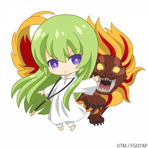 Tags: Anime, CloverWorks, Fate/Grand Order: Zettai Majuu Sensen Babylonia, Fate/Grand Order, Kingu, Strength (Tarot), Tarot Cards, Official Art, Twitter