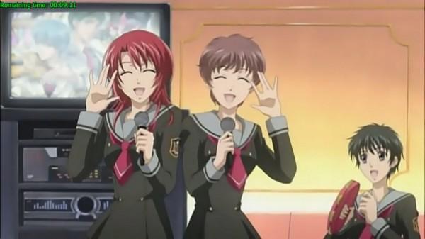 Tags: Anime, Kiniro no Corda, Hino Kahoko, Tambourine, Screenshot, La Corda D'oro