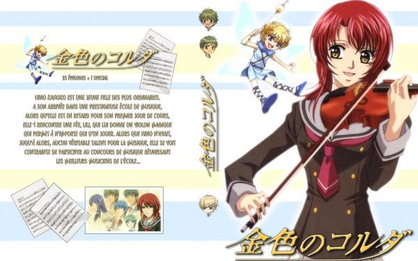 Tags: Anime, Kiniro no Corda, Lili (Kiniro No Corda), Hino Kahoko, Wallpaper, La Corda D'oro