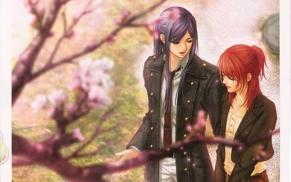 Tags: Anime, Kiniro no Corda, Hino Kahoko, Yunoki Azuma, Wallpaper, Official Art, CG Art, La Corda D'oro