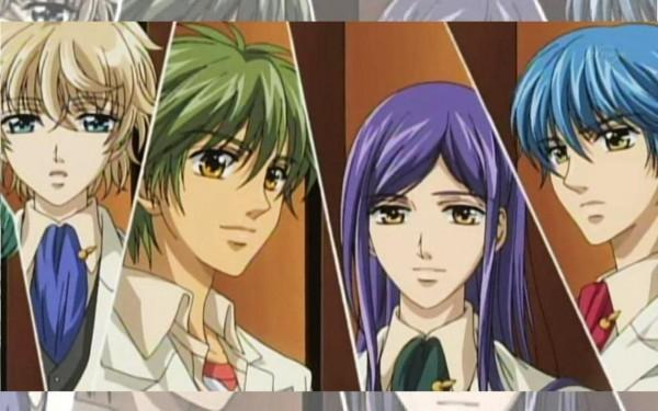 Tags: Anime, Kiniro no Corda, Yunoki Azuma, Hihara Kazuki, Shimizu Keiichi, Tsukimori Len, La Corda D'oro