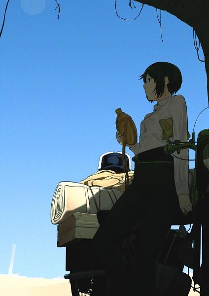 Tags: Anime, Pixiv Id 1198363, Kino no Tabi, Kino (Kino no Tabi), Mobile Wallpaper, Pixiv, Fanart, Fanart From Pixiv