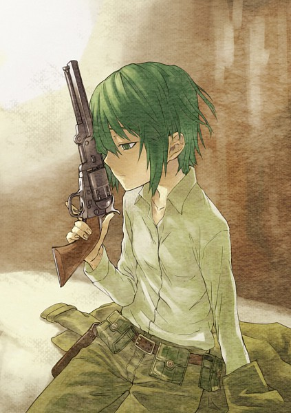 Tags: Anime, Double-Trigger, Kino no Tabi, Kino (Kino no Tabi), Mobile Wallpaper
