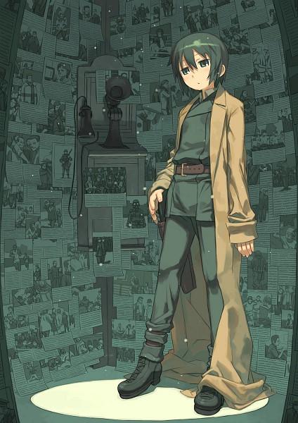 Tags: Anime, Kuroboshi Kouhaku, Kino no Tabi, Kino (Kino no Tabi), Mobile Wallpaper