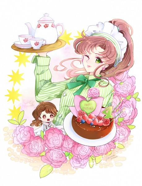 Tags: Anime, Pixiv Id 3111494, Bishoujo Senshi Sailor Moon, Nephrite, Kino Makoto, Chef Uniform, Chef Hat, Fanart From Pixiv, Fanart, Pixiv