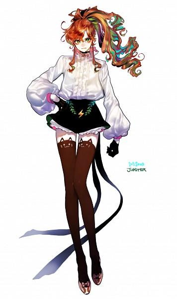 Tags: Anime, Pigeon666, Bishoujo Senshi Sailor Moon, Kino Makoto, Lightning Bolt (Symbol), Animal Legwear, Brown Legwear, Mobile Wallpaper, Fanart, Fanart From Pixiv, PNG Conversion, Pixiv