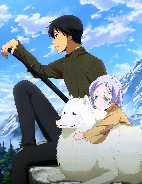Tags: Anime, Lerche, Kino no Tabi: The Beautiful World - The Animated Series, Kino no Tabi, Shizu (Kino no Tabi), Riku (Kino no Tabi), Tifana, Scan, Official Art