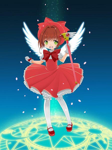 Tags: Anime, Bonxy, Cardcaptor Sakura, Kinomoto Sakura, Sealing Wand (Dormant Form), deviantART, Fanart, Requested Upload