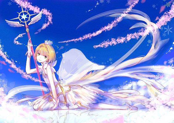 Tags: Anime, Pixiv Id 2024780, Cardcaptor Sakura, Cardcaptor Sakura: Clear Card-hen, Kinomoto Sakura, Scepter, Sealing Wand (Dormant Form), Fanart, Fanart From Pixiv, Pixiv