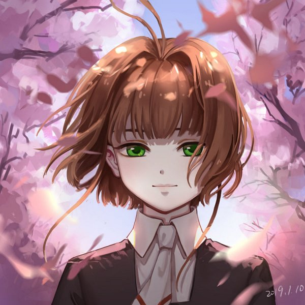 Tags: Anime, Pixiv Id 7336257, Cardcaptor Sakura: Clear Card-hen, Cardcaptor Sakura, Kinomoto Sakura, Fanart, Mobile Wallpaper, Fanart From Pixiv, Pixiv